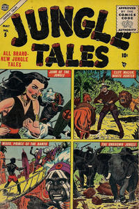 Cover Thumbnail for Jungle Tales (Marvel, 1954 series) #5