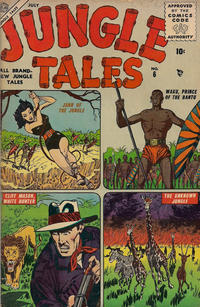Cover Thumbnail for Jungle Tales (Marvel, 1954 series) #6