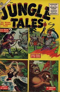 Cover Thumbnail for Jungle Tales (Marvel, 1954 series) #7