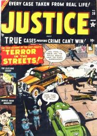 Cover Thumbnail for Justice (Marvel, 1947 series) #28