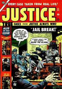 Cover Thumbnail for Justice (Marvel, 1947 series) #41