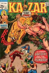 Cover Thumbnail for Ka-Zar (Marvel, 1970 series) #2