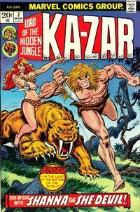 Cover Thumbnail for Ka-Zar (Marvel, 1974 series) #2