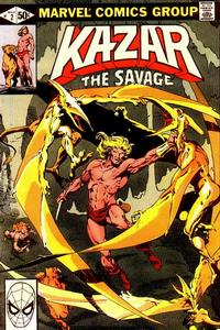 Cover Thumbnail for Ka-Zar the Savage (Marvel, 1981 series) #2 [Direct]