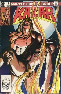 Cover Thumbnail for Ka-Zar the Savage (Marvel, 1981 series) #5 [British price variant]