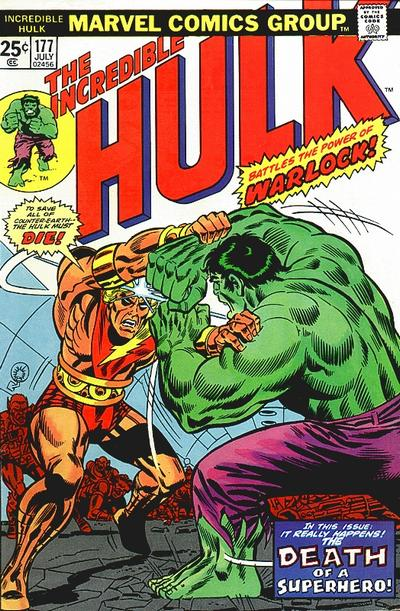 Cover for The Incredible Hulk (Marvel, 1968 series) #177