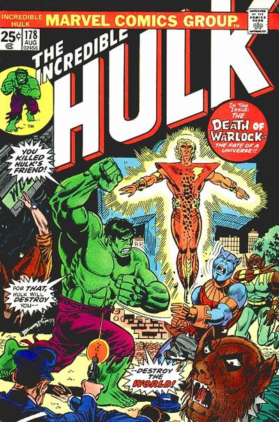 Cover for The Incredible Hulk (Marvel, 1968 series) #178