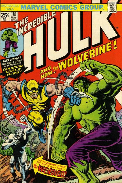Cover for The Incredible Hulk (Marvel, 1968 series) #181