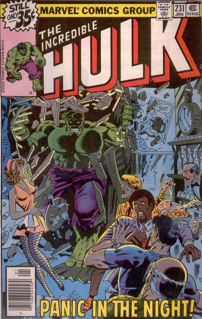 Cover for The Incredible Hulk (Marvel, 1968 series) #231