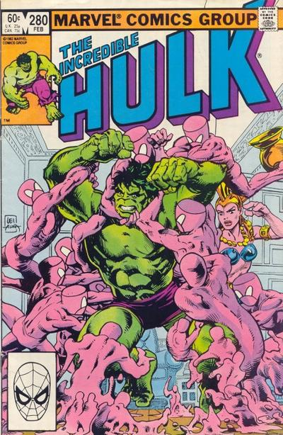 Cover for The Incredible Hulk (Marvel, 1968 series) #280 [Direct Edition]