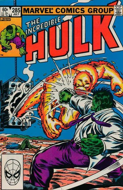 Cover for The Incredible Hulk (Marvel, 1968 series) #285