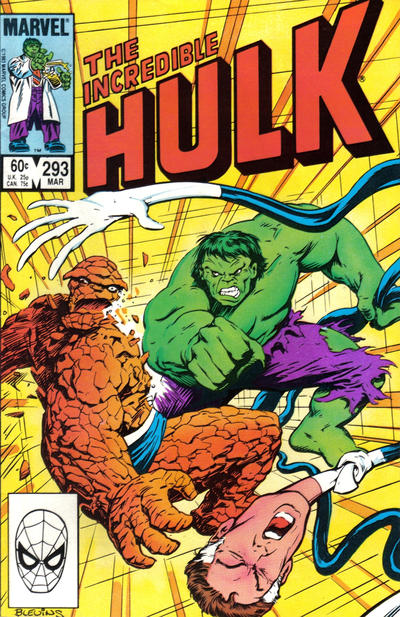 Cover for The Incredible Hulk (Marvel, 1968 series) #293 [Direct]