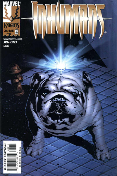 Cover for Inhumans (Marvel, 1998 series) #8
