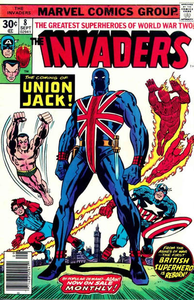 Cover for The Invaders (Marvel, 1975 series) #8 [Regular Edition]