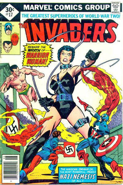 Cover for The Invaders (Marvel, 1975 series) #17 [35¢]