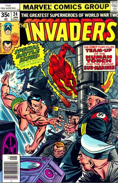 Cover for The Invaders (Marvel, 1975 series) #24