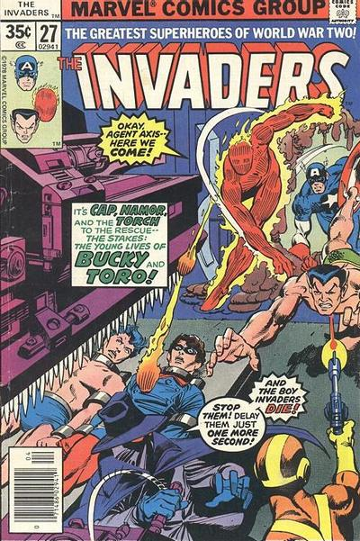 Cover for The Invaders (Marvel, 1975 series) #27