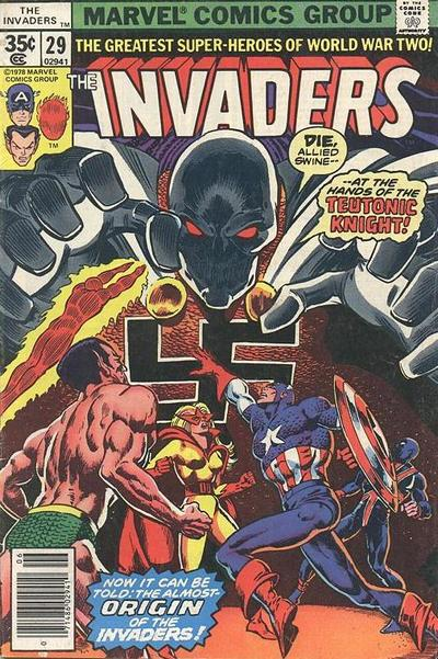 Cover for The Invaders (Marvel, 1975 series) #29