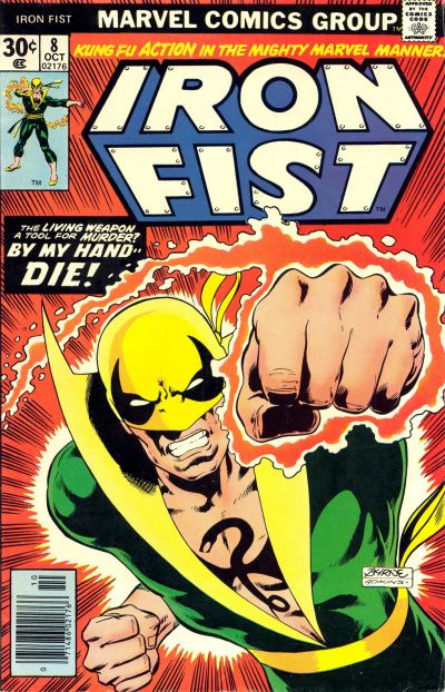 Cover for Iron Fist (Marvel, 1975 series) #8