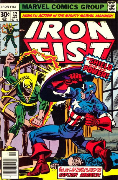 Cover for Iron Fist (Marvel, 1975 series) #12