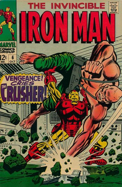 Cover for Iron Man (Marvel, 1968 series) #6