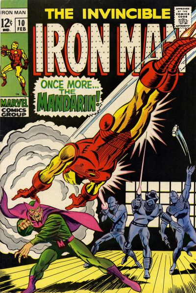 Cover for Iron Man (Marvel, 1968 series) #10