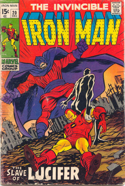 Cover for Iron Man (Marvel, 1968 series) #20