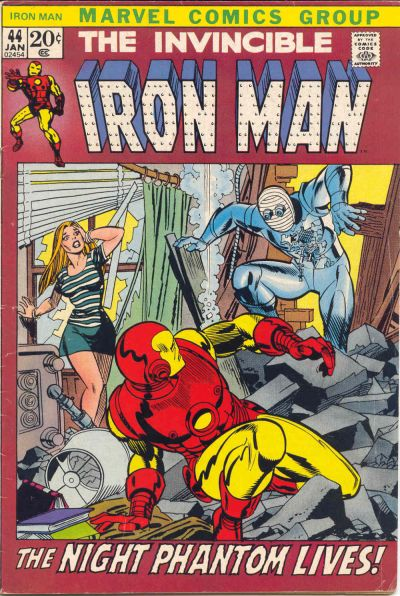 Cover for Iron Man (Marvel, 1968 series) #44