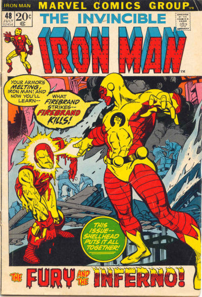 Cover for Iron Man (Marvel, 1968 series) #48 [Regular Edition]