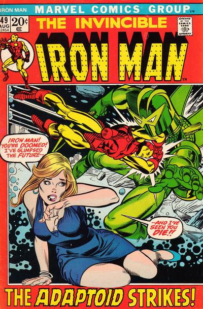 Cover for Iron Man (Marvel, 1968 series) #49 [Regular Edition]