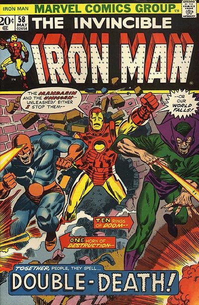Cover for Iron Man (Marvel, 1968 series) #58 [Regular Edition]