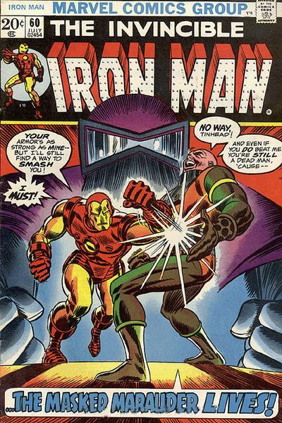 Cover for Iron Man (Marvel, 1968 series) #60 [Regular Edition]