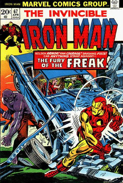 Cover for Iron Man (Marvel, 1968 series) #67