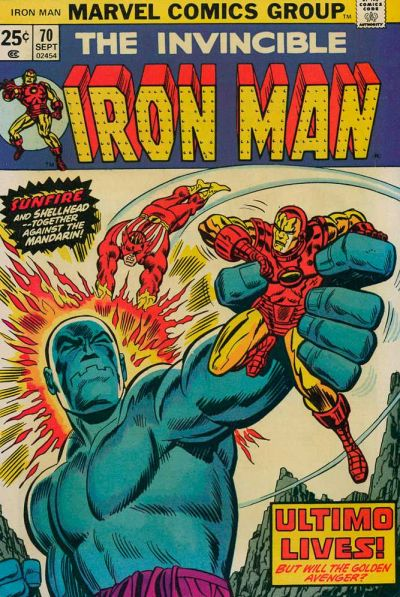 Cover for Iron Man (Marvel, 1968 series) #70