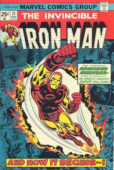 Cover for Iron Man (Marvel, 1968 series) #71