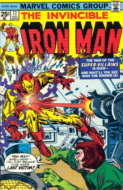 Cover for Iron Man (Marvel, 1968 series) #77
