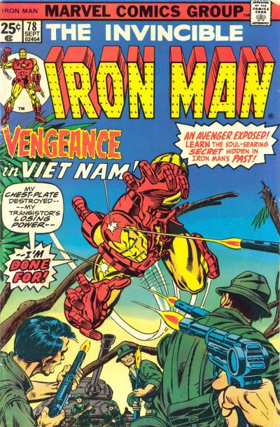Cover for Iron Man (Marvel, 1968 series) #78 [Regular Edition]