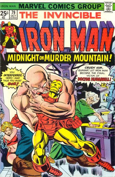 Cover for Iron Man (Marvel, 1968 series) #79 [Regular Edition]