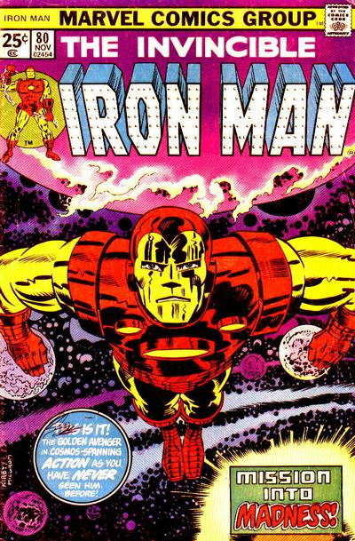 Cover for Iron Man (Marvel, 1968 series) #80