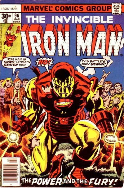 Cover for Iron Man (Marvel, 1968 series) #96