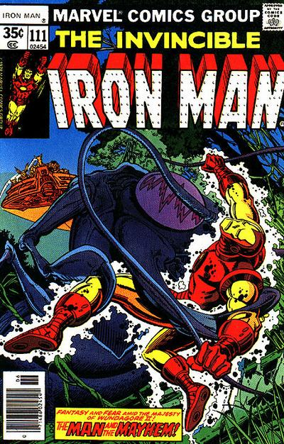 Cover for Iron Man (Marvel, 1968 series) #111