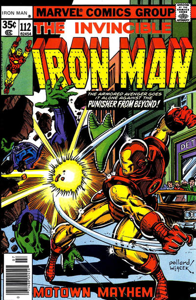 Cover for Iron Man (Marvel, 1968 series) #112
