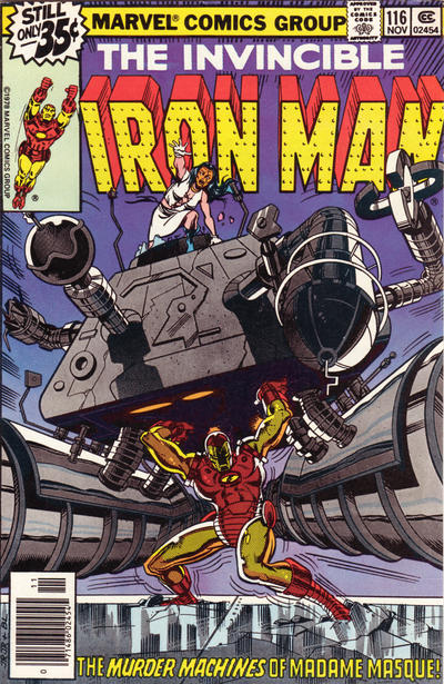 Cover for Iron Man (Marvel, 1968 series) #116