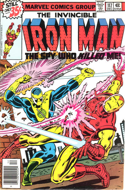 Cover for Iron Man (Marvel, 1968 series) #117