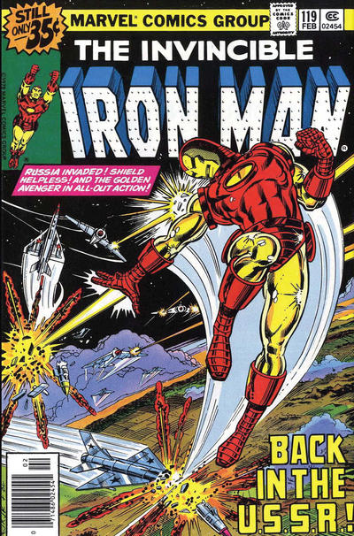 Cover for Iron Man (Marvel, 1968 series) #119