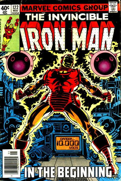 Cover for Iron Man (Marvel, 1968 series) #122