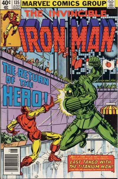Cover for Iron Man (Marvel, 1968 series) #135