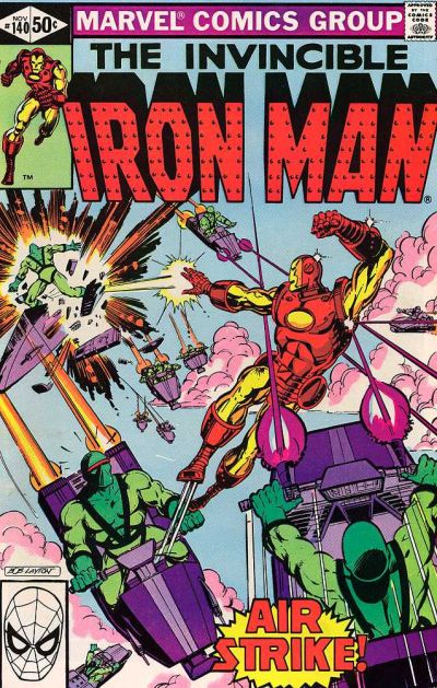 Cover for Iron Man (Marvel, 1968 series) #140