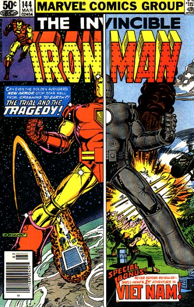 Cover for Iron Man (Marvel, 1968 series) #144 [Direct]