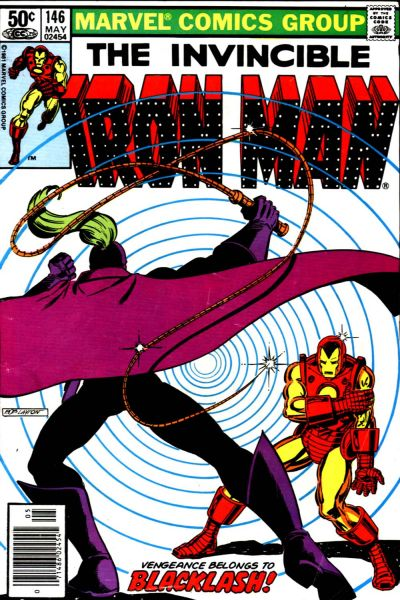 Cover for Iron Man (Marvel, 1968 series) #146
